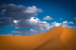Merzouga Desert Clouds