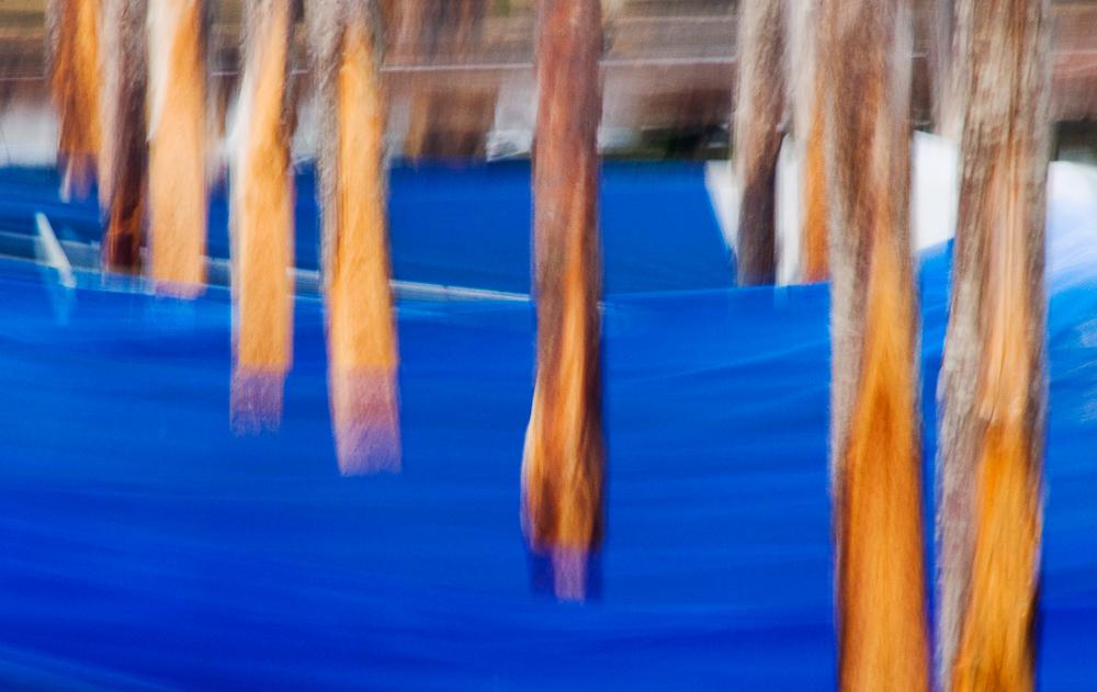 Venice Gondola Posts and Tarps
