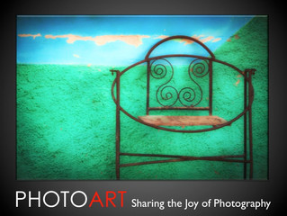 QUILL Lecture Series                  PHOTOART: Sharing the Joy of Photography