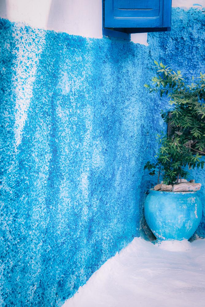 Rabat Speckled Blue