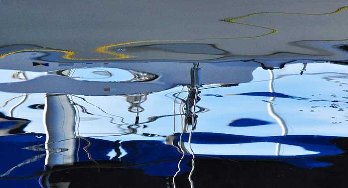 Upside Down Blue