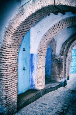 Chefchaouen Morning Archways