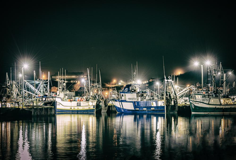 Twillingate Night Reflection