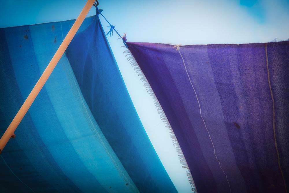 Essaouira Blues and Purples