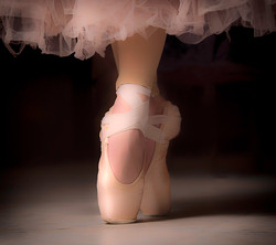 Ballerina On Point