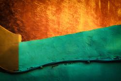 Green Orange Walls