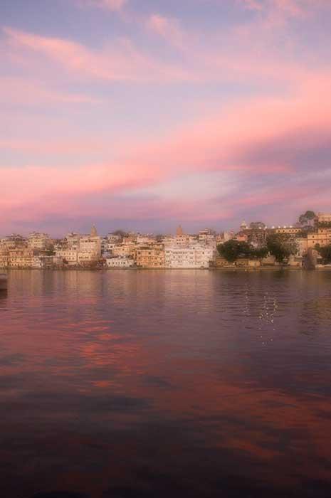 Udaipur in Pink