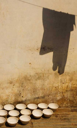 Jaipur Pottery and Shadow