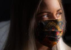 Brianna in a Mask
