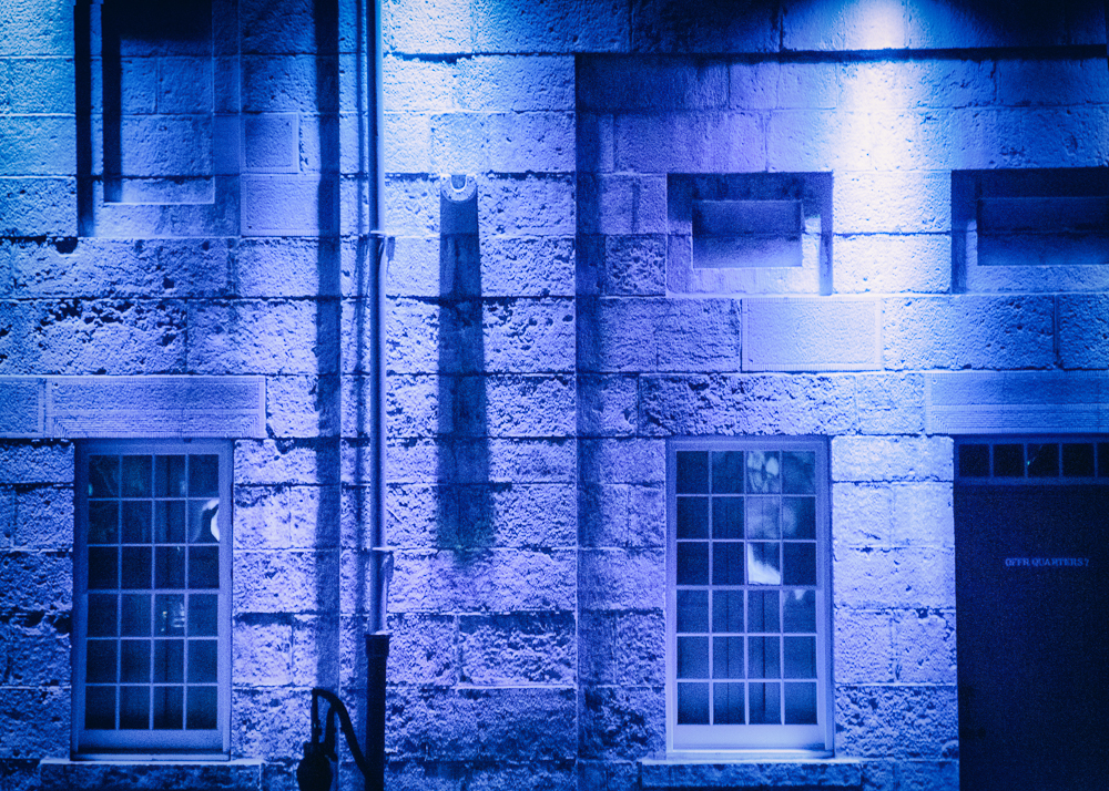 Lumina Borealis Blue Wall