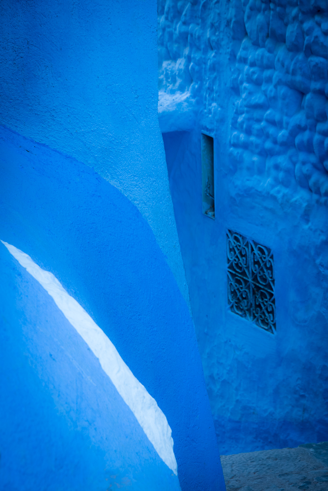 Chefchaouen White Strip