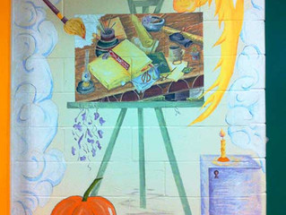 School Hallway Murals