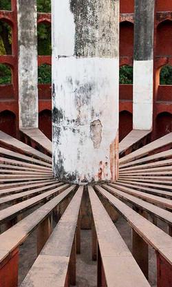 New Delhi Jantar Mantar Stripes