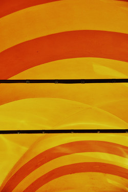 Three Orange Stripes