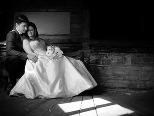 PHOTOART Alleyway Wedding