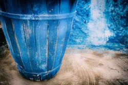 Rabat Blue Basket