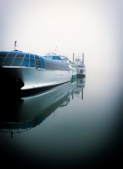 Tour Boats in the Mist