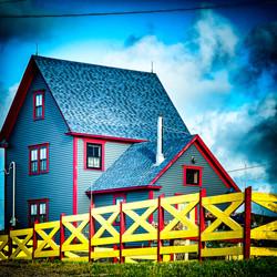 Twillingate Blue, Red, Yellow
