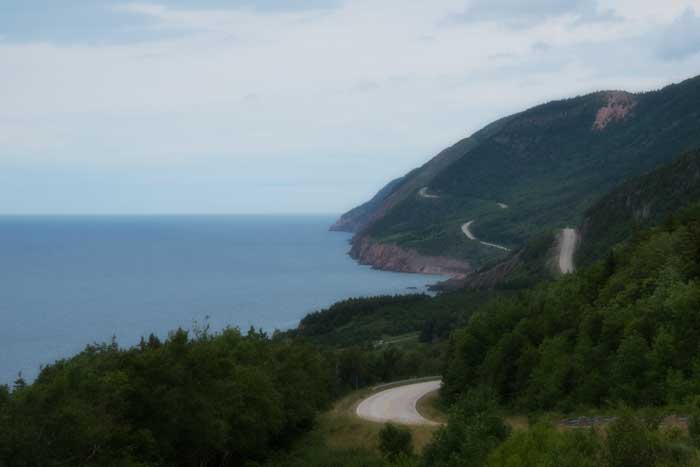 Cabot Trail Winding