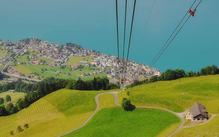 Lucerne Looking Down