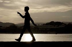 Udaipur Boy Pointing