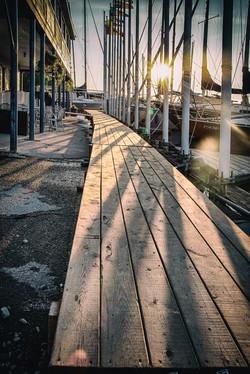 KYC Sunrise Dock