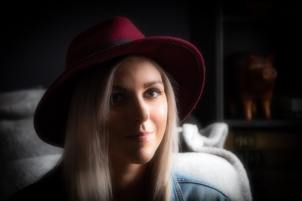 Brianna in a Red Hat