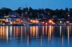 Lunenburg Boats Sunset