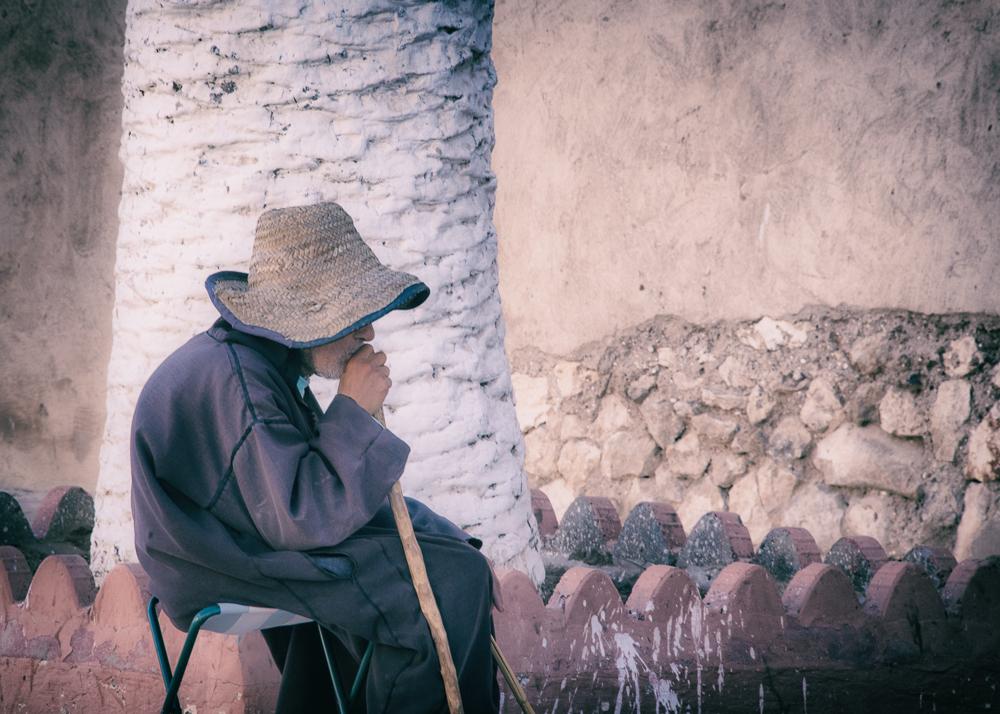 Essaouira Seated Man