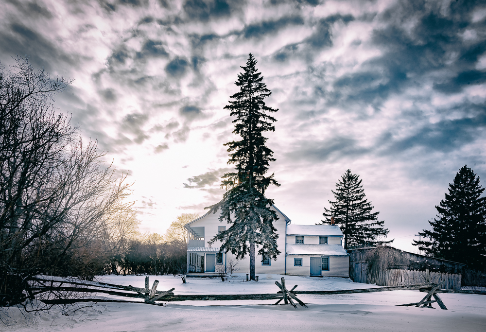 Fairfield House Winter View