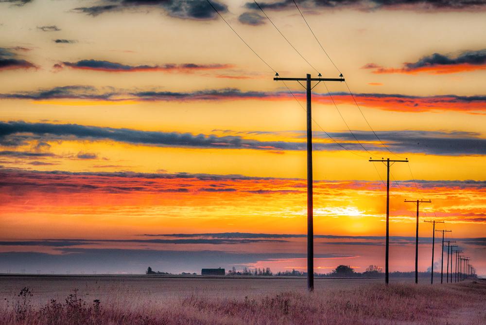 Prairie Sunrise Saskatchewan