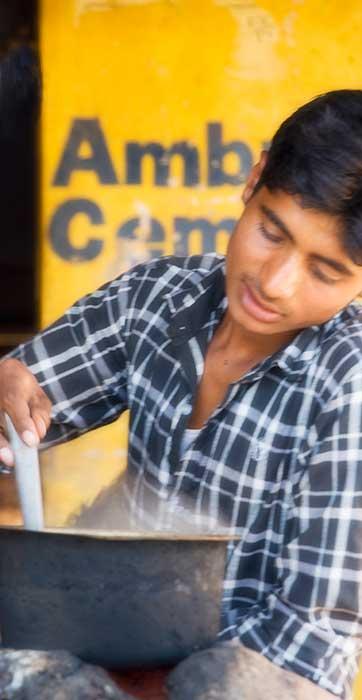 Udaipur to Bikaner Making Tea