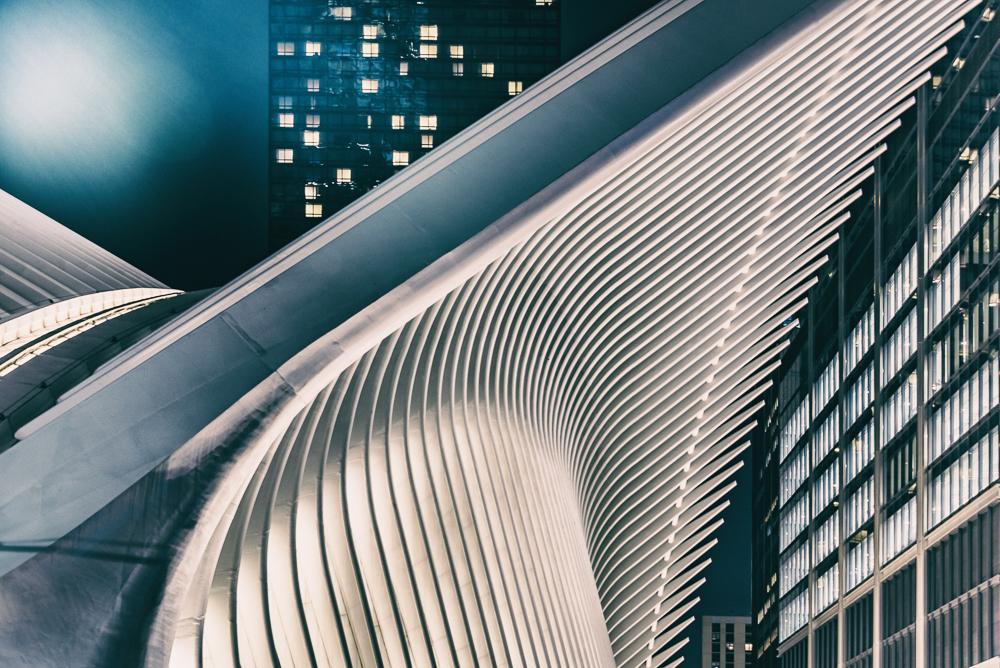 NYC Evening Oculus