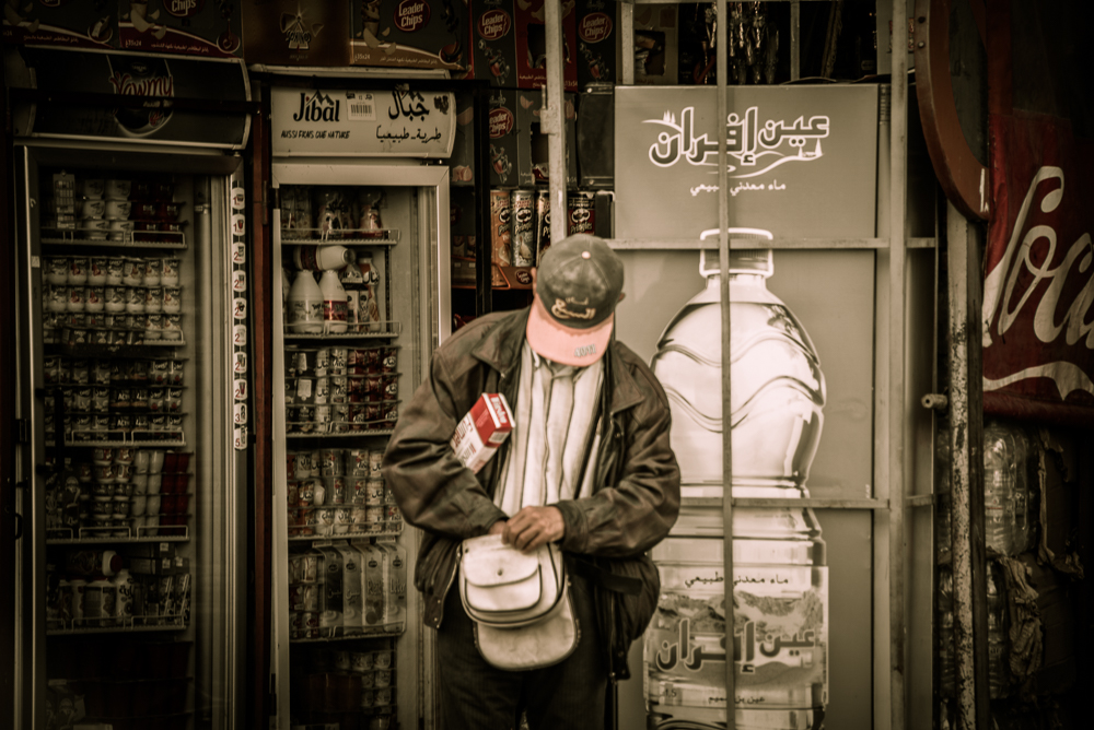 Fes Man with Bag