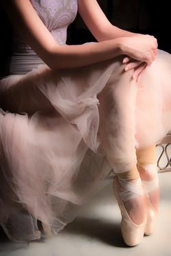 Ballerina Seated