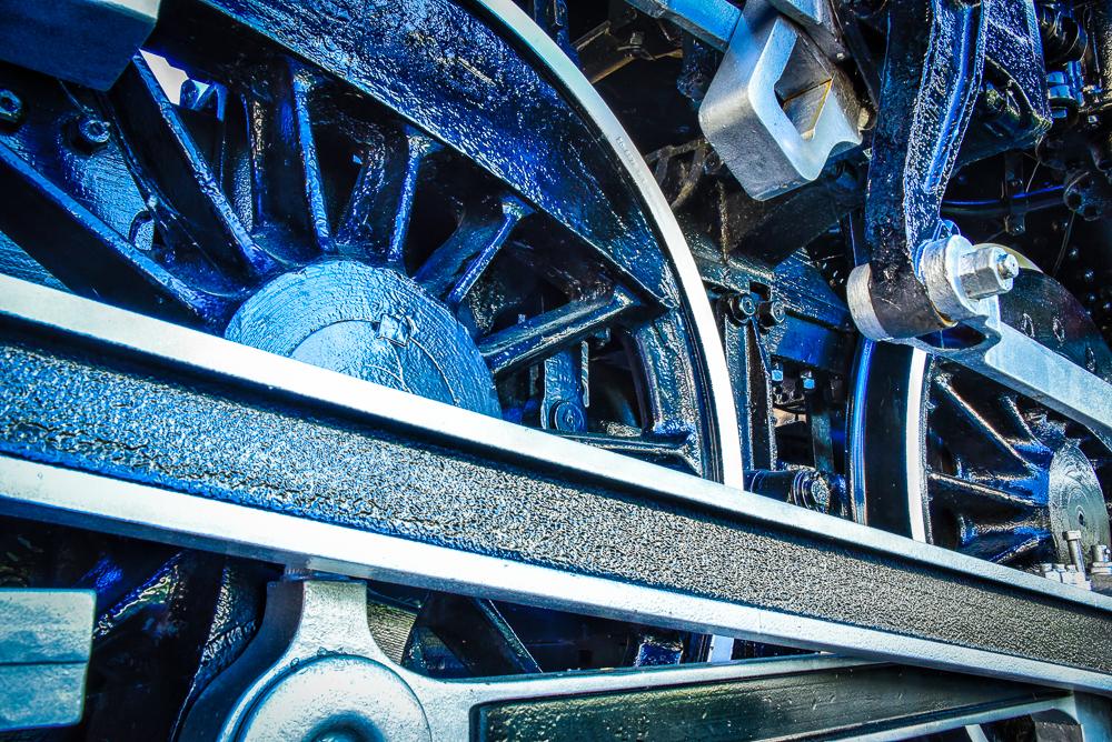 Blue Black Train