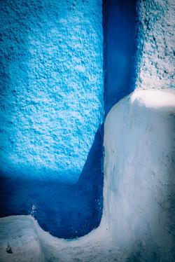 Rabat Blue and White