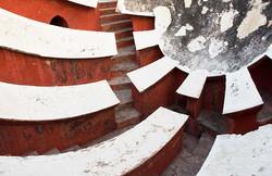 New Delhi Jantar Mantar Diagonals