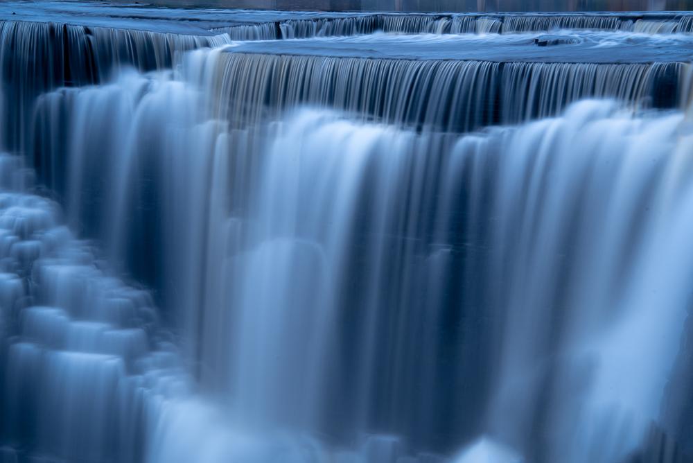 Kakabeka Falls Ontario at Blue Hour