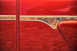 Red Dappled Door