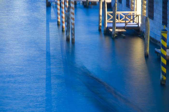 Gondola Blur Grand Canal