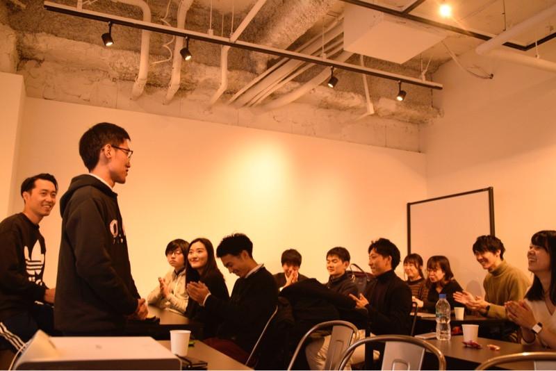 OVAL代表の李俊虎が会の冒頭挨拶をさせて頂きました