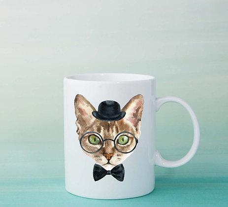 Mug Chat Illustration tasse à café