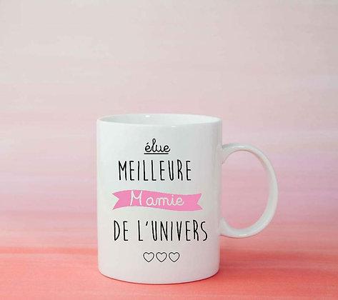 Mug Meilleure mamie Citation idée cadeau pas cher