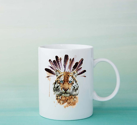 Mug Tigre Illustration tasse à café