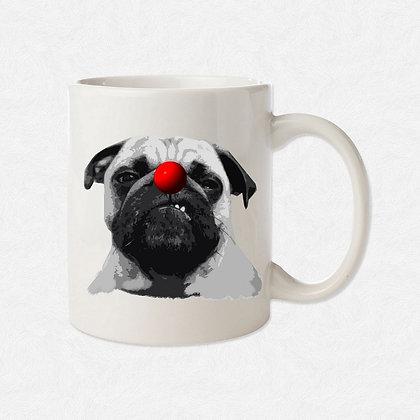 Mug Bouledogue clown