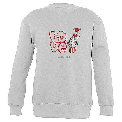 Sweat et Sweat Capuche Enfant Love 121