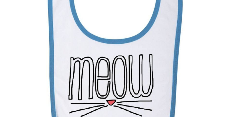 Bavoir Bébé Meow 01