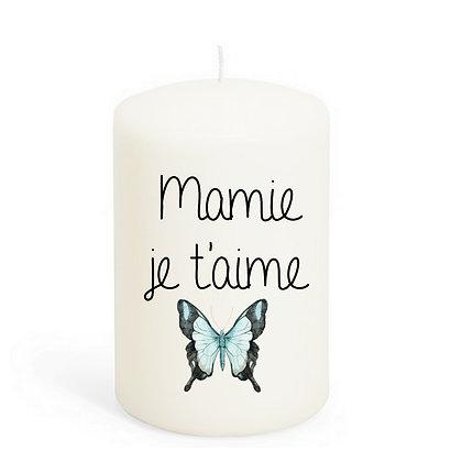 bougie Cadeau Mamie pas cher originale cadeau fête des grands mère