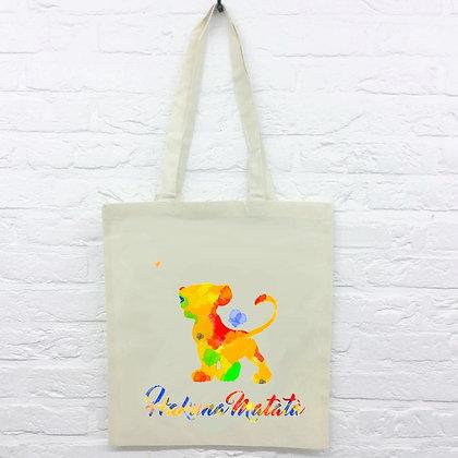 Tote Bag Hakuna Matata Watercolor